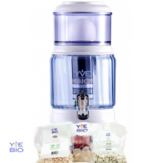 YVE-BIO® Single 500 Drinking water filters +EM-Starterset