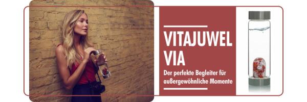 VIA-VitaJuwel-Edel-Flaschenwasser Italienisch