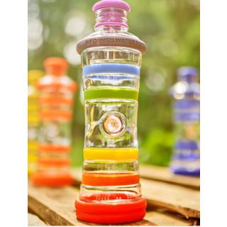 i9 Chakra Bottle - weiß - Purity Wasserfilter und Trinkwasserfilter von yve-bio.com